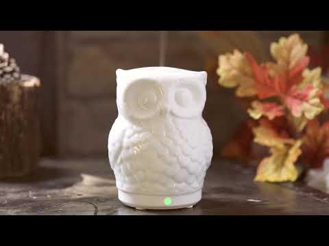 sparoom-owl-ceramic-ultrasonic-essential-oil-diffuser