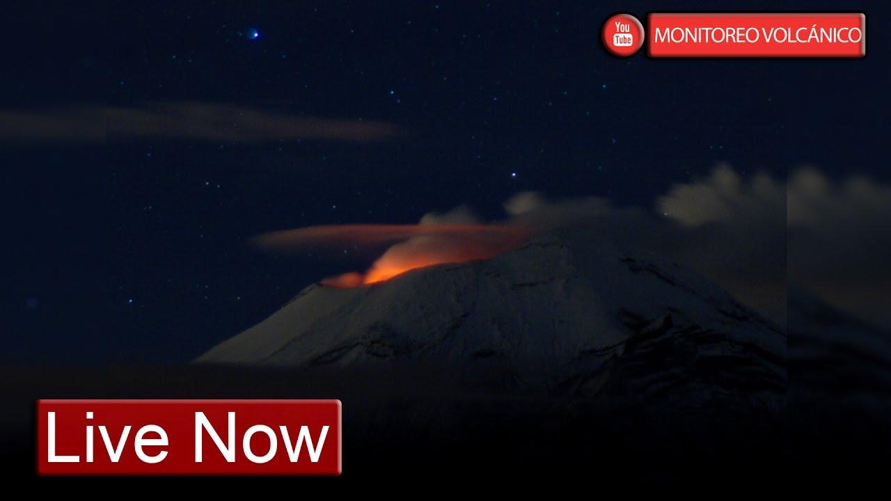 Live Cam Popocatepetl - Youtube-8278