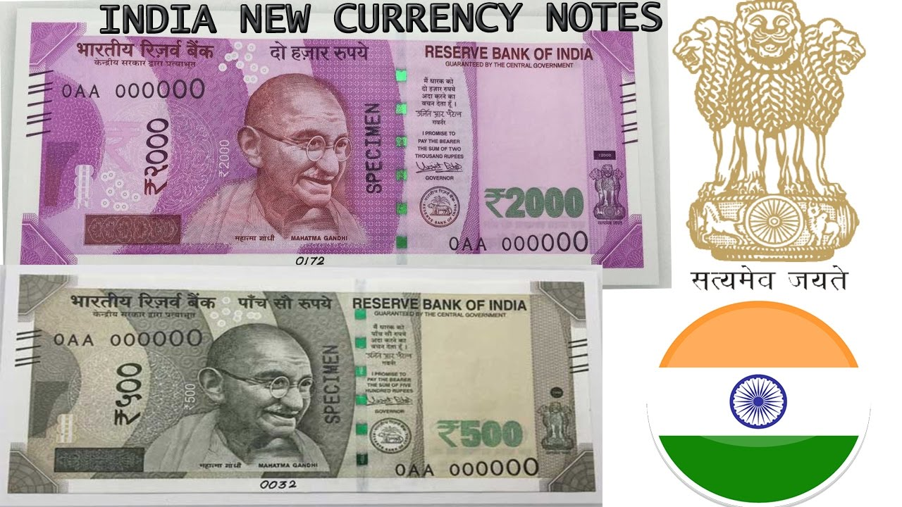 NEW Indian 500 and 2000 Rupee Notes - Indian Currency ...