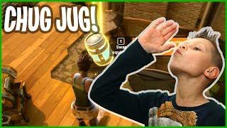 Chugging Up the New Chug Jug in Fortnite Battle Royale