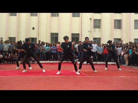 St Xavier's College , Street Dance at Bitotsav 2017 (GYV)