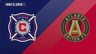 HIGHLIGHTS: Chicago Fire 1-2 Atlanta United