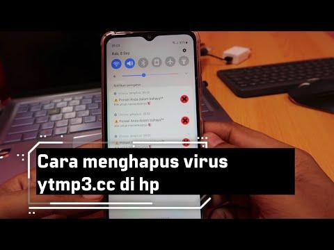 Cara menghapus virus ytmp3.cc di hp