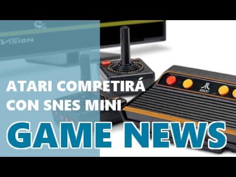 Game News Atari Flashback 8 Gold Viene A Competir Con Snes Mini