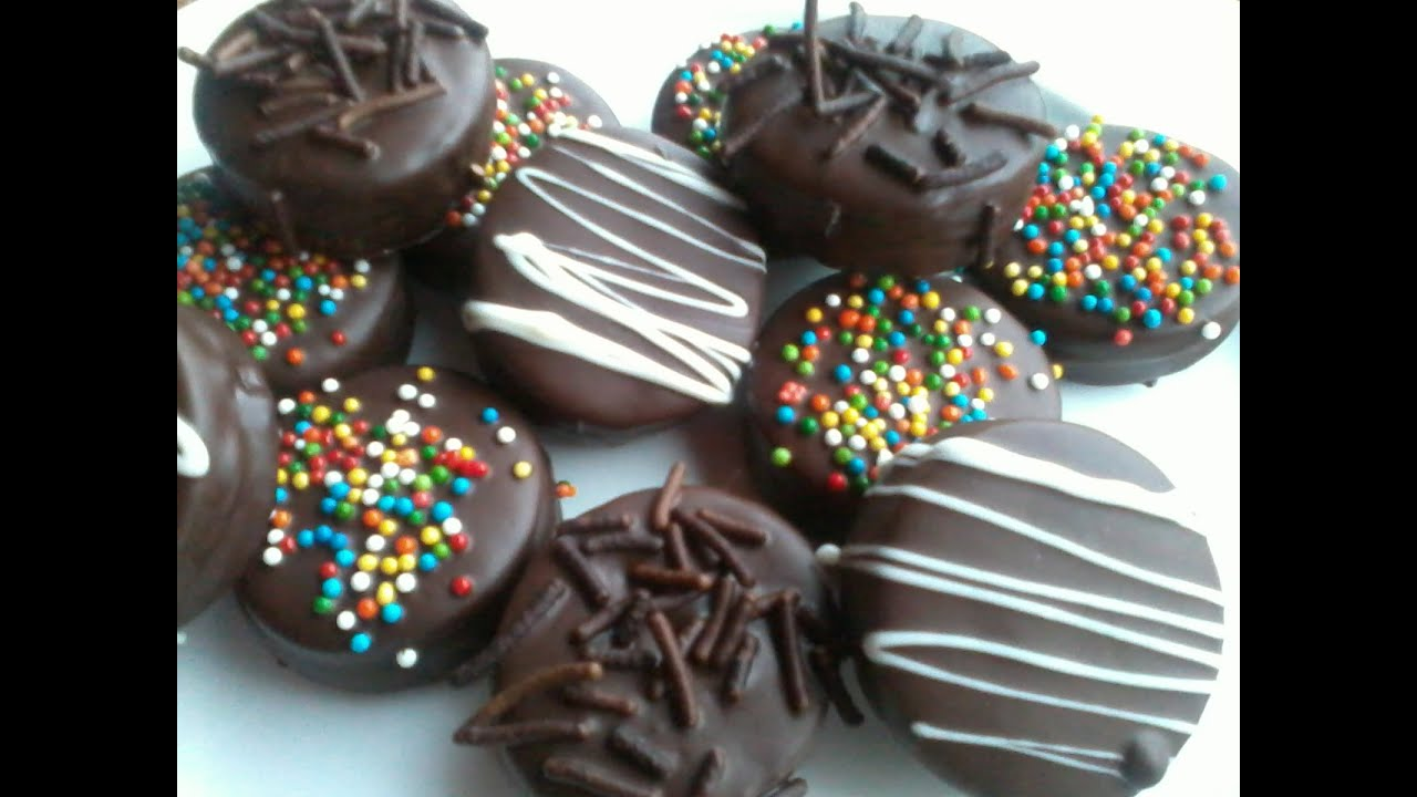 Alfajores De Chocolate Mi Dulce Pasteleria Youtube