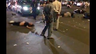 Nóng: Tai nạn kinh hoàng tại ngã tư Hàng Xanh, người bị thương nằm la liệt giữa đường