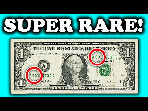 SUPER RARE DOLLAR BILLS WORTH MONEY - RARE MONEY TO LOOK FOR IN CIRCULATION!!