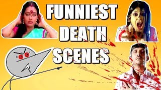 Indian Movie Funniest Death Scenes | Angry Prash