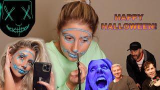 Easy Purge Halloween Makeup!