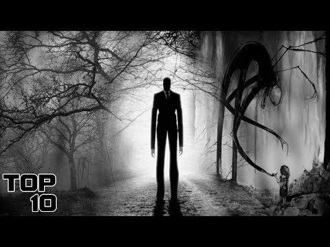 Top 10 Scary Slenderman Sightings - Part 2