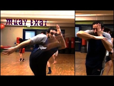 Muay Thai Beginners - Class Training