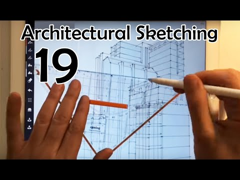 Architectural Sketching 019