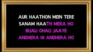 Hum Tum Picture Dekh Rahe Ho - Karaoke (With Female Voice) - Rang - Udit Narayan & Alka Yagnik