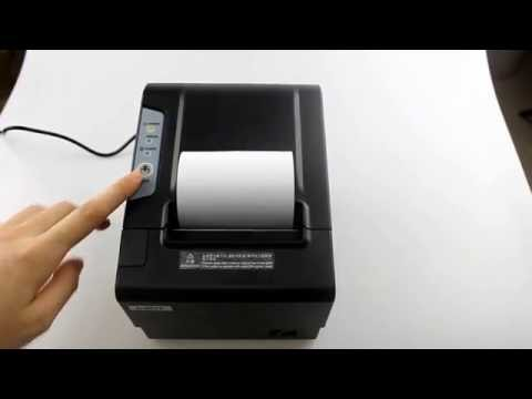 80mm Thermal POS Receipt Printer with auto cutter CSN 80V