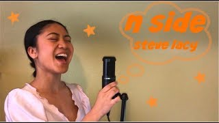 n side - steve lacy | elyssa plaza cover