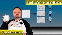"""Funk Schalter anschließen und installieren """"Typ COLEMETER"""""""