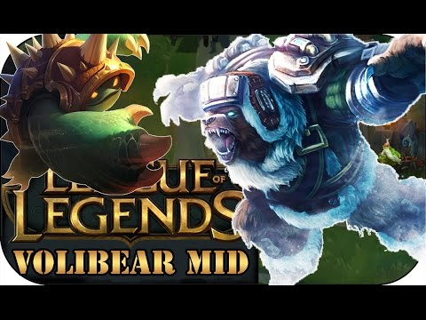 FULL DAMAGE VOLIBEAR MID mit TOXICLP | League of Legends Gameplay deutsch