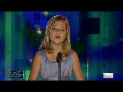 CNN: Jackie Evancho sings 'Angel'