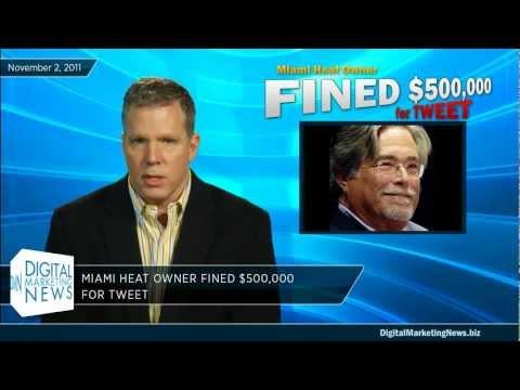 Burglars Use Social Media & NBA Owner Fined for Tweet