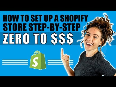 🔥 Shopify Tutorial For Beginners 2018 | How To Create A Profitable Shopify Store From Scratch