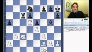 Norway Chess 2013 Round 2 Carlsen vs Anand
