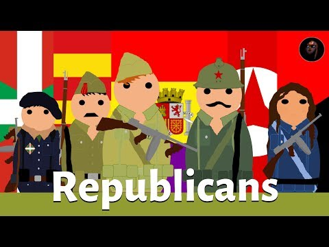 Spanish Civil War Factions: The Republicans