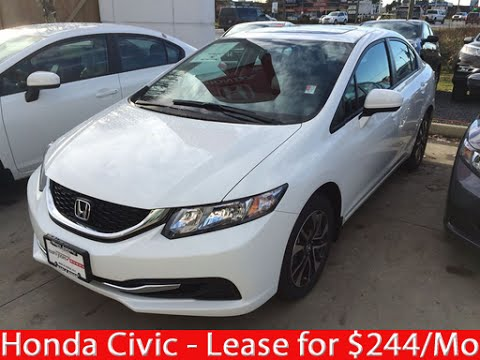 Honda Civic | Lease and Save | Greater Vancouver Honda Dealer