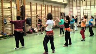 Zumba Gold - Bollywood - Indian Moonshine - Bhangra Folk Fusion (Zumba a Liege)