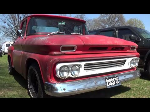 1960 Chevrolet C10 Stepside Pickup Youtube