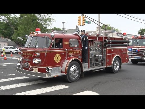 Clinton,NJ Fire Department & First Aid Anniversary Parade 5/20/17