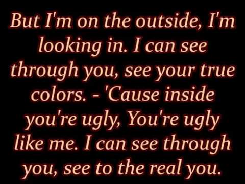 "Staind - ""Outside"" lyrics"