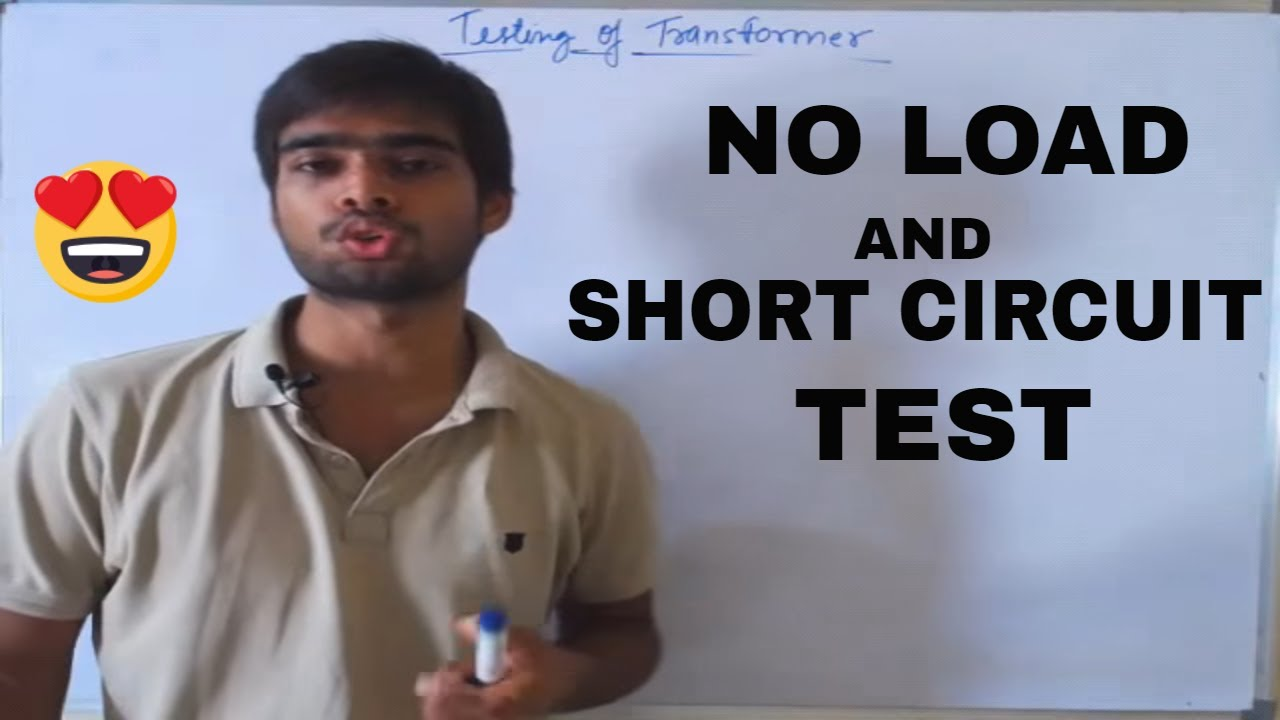 Lec06 Open Circuit And Short Test Of Transformer Gate Lecture