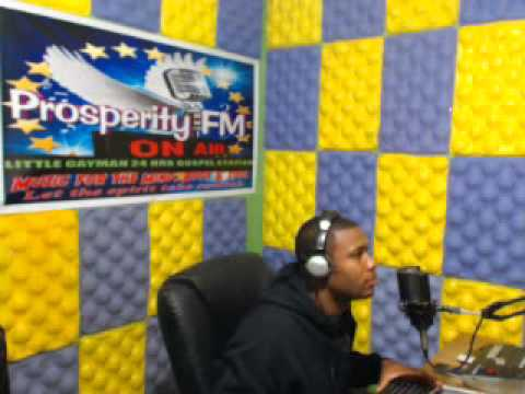 ''PRAISE WITHOUT LIMIT'' 19,01, 2014 ON PROSPERITY FM IN CAYMAN WITH DJ ROBERT