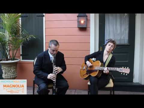 New Orleans Jazz Duo (Magnolia All-Stars) - Please Don't Talk About Me When I'm Gone