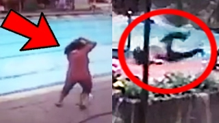 10 Earthquake Swimming Pool Moments Caught On Camera!