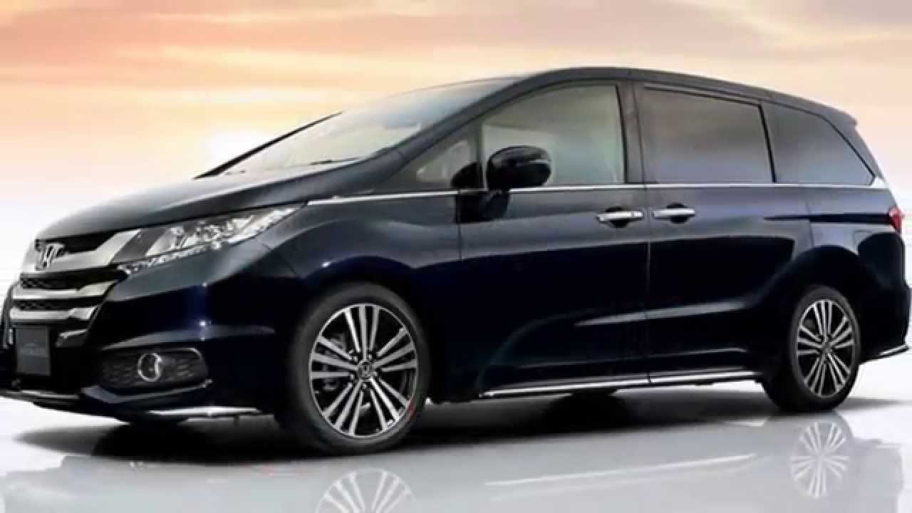 New honda odyssey and odyssey absolute for japan 2014
