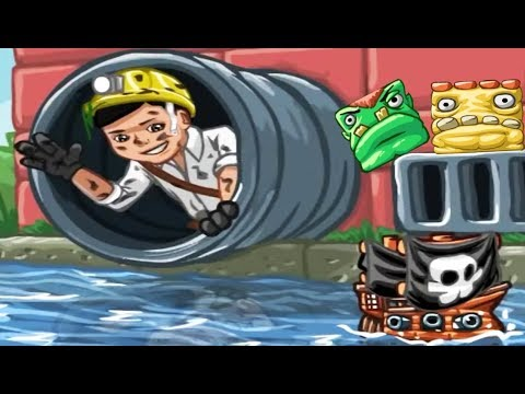 Веселые Фигуры Мальчик и Приратский корабль - Мультик игра для детей