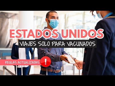 Nuevas reglas para viajar a Estados Unidos: menores, no vacunados y más detalles