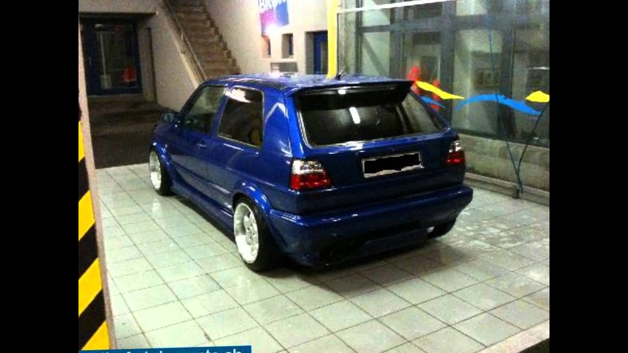vw golf 2 tuning youtube. Black Bedroom Furniture Sets. Home Design Ideas