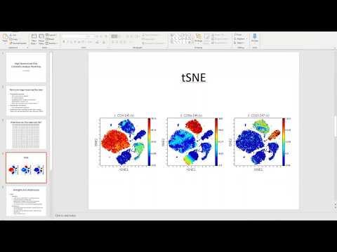 Tutorial On Tsne And Flowsom Step By Step Tool Usage In Flowjo V10 Youtube