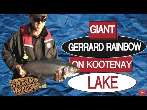 GIANT GERRARD RAINBOW ON KOOTENAY LAKE