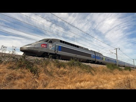 TGV Train from Aeroport Paris - Charles de Gaulle  to Rennes