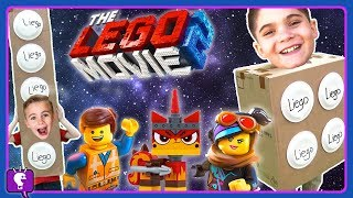 FAKE LIEGO vs LEGO Movie 2 Toys! Adventure and Play with Hob...