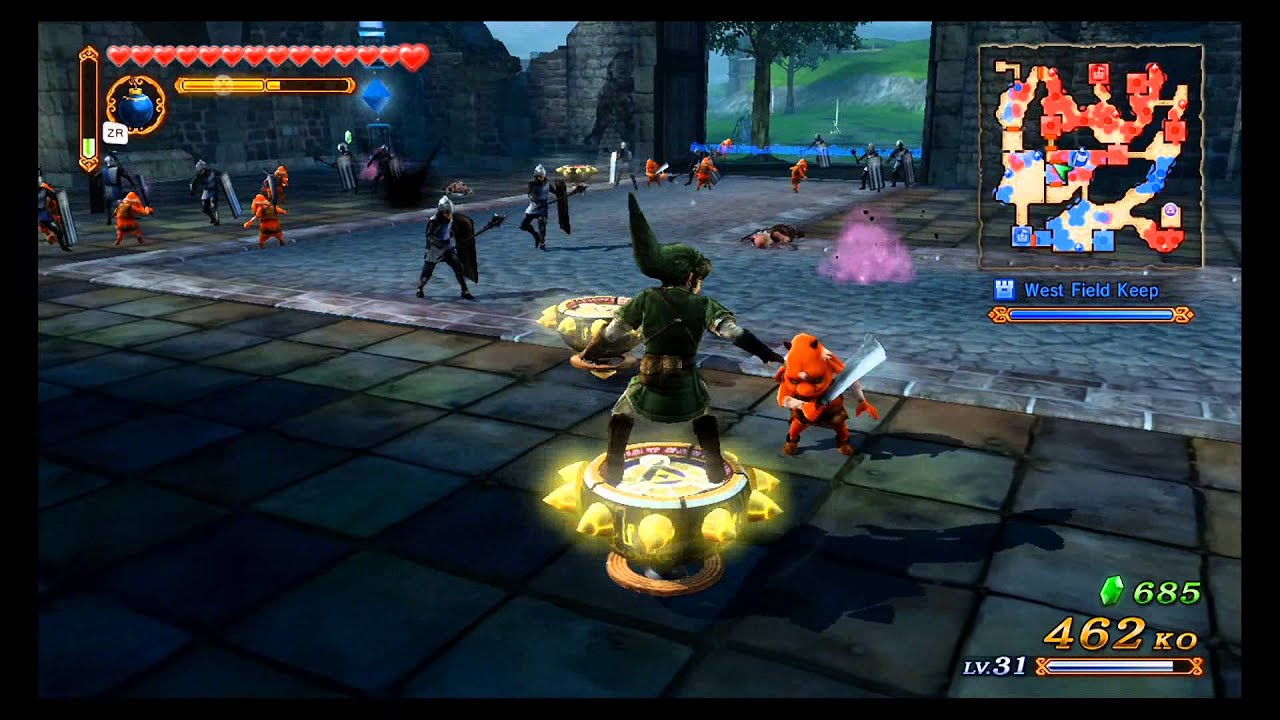 Hyrule Warriors Amiibo Unlocks Gameplay Youtube