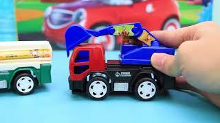 米奇妙妙屋趣味玩具 六款多功能的慣性工程車