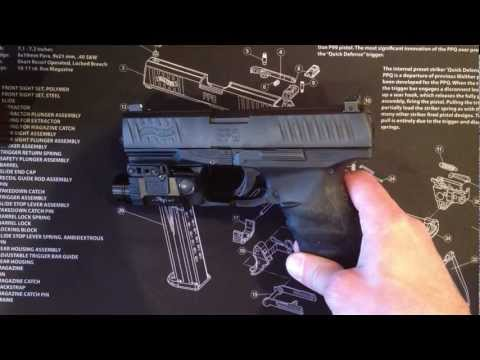 Removing  the slide of Walther PPQ .Easy way.