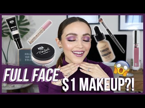 TESTING $1 MAKEUP!!! AND OMG!!!! | ShopMissA Haul / GRWM