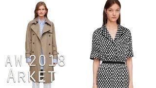 Moda Otoño Invierno 2018 | Catálogo Arket Mujer | Nueva marca H&M