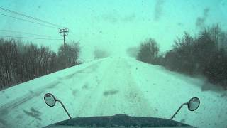 830 Blizzard driving