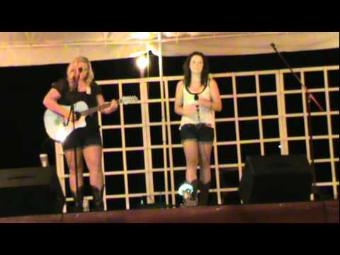 Kenzie Howell and Taylor June Performing Traveling Soldier by The Dixie Chicks